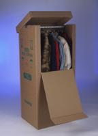 Kleiderbox für Umzüge